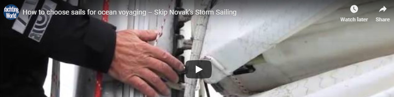 Choose Sails for Heavy Weather