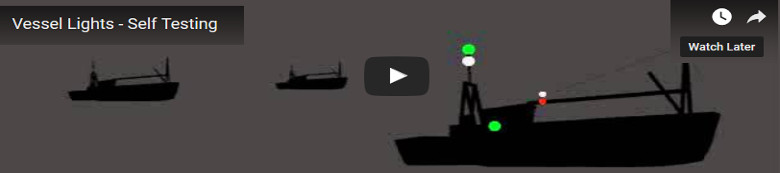 Vessel Lights - Self Test
